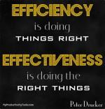 eficácia vs efici~encia