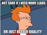 qualidade de leads